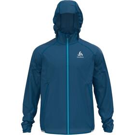 Odlo Zeroweight Dual Dry Water Resist Jacket Men, mykonos blue